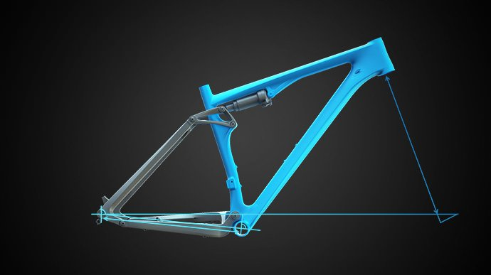 Image of CUBE technology Agile Ride Geometry