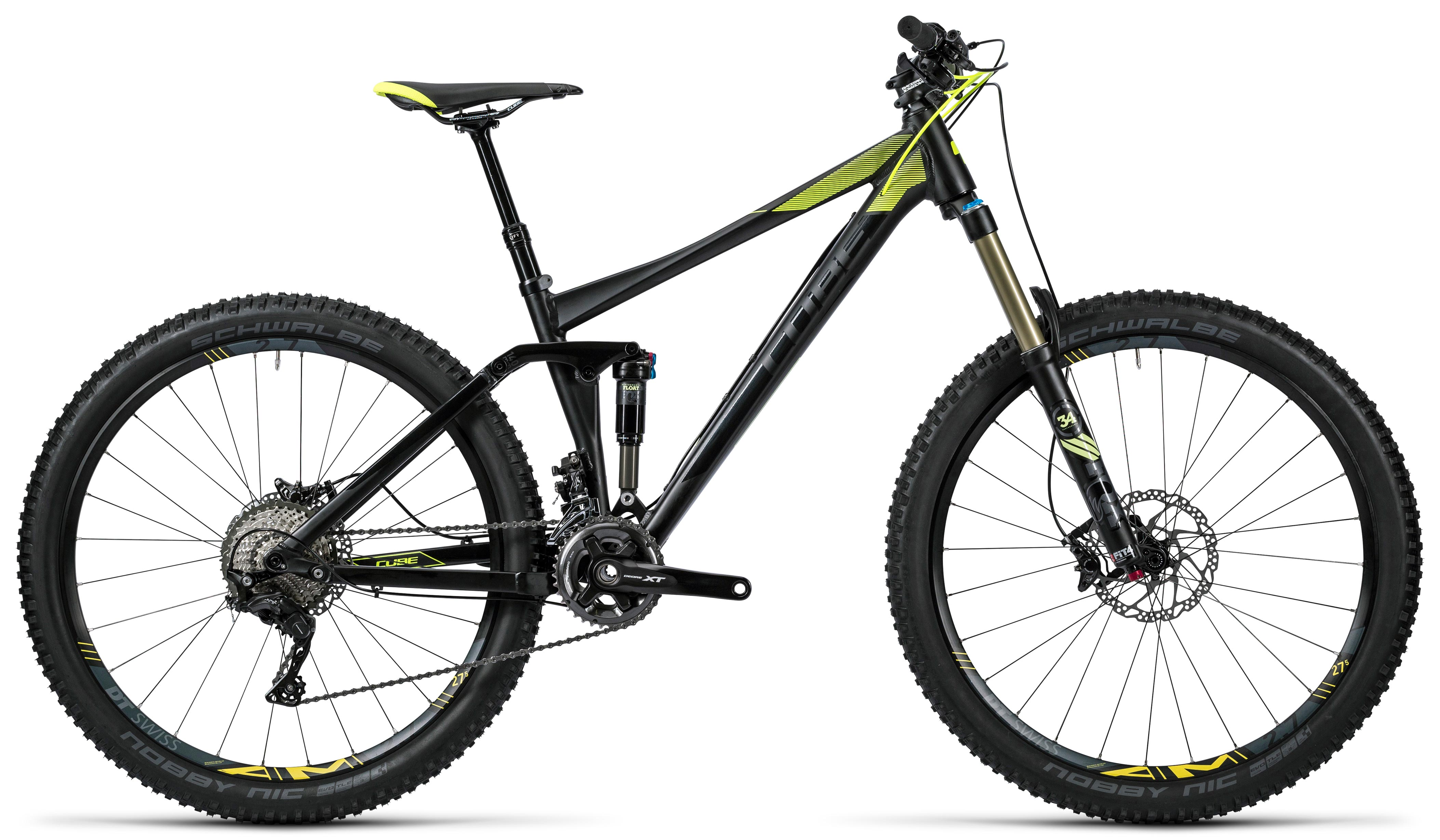 2138d97dece CUBE Stereo 140 HPA Race 27.5 black´n´flashyellow 2016