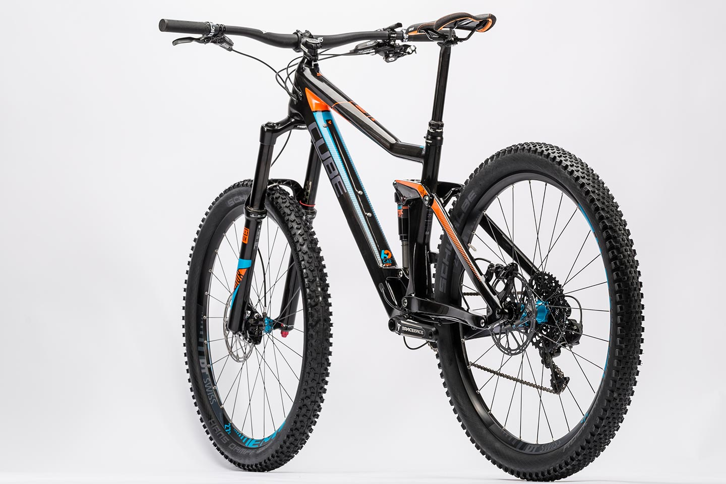 amazing selection official shop new style CUBE Stereo 160 C:62 SL 27.5 carbon´n´flashorange 2016