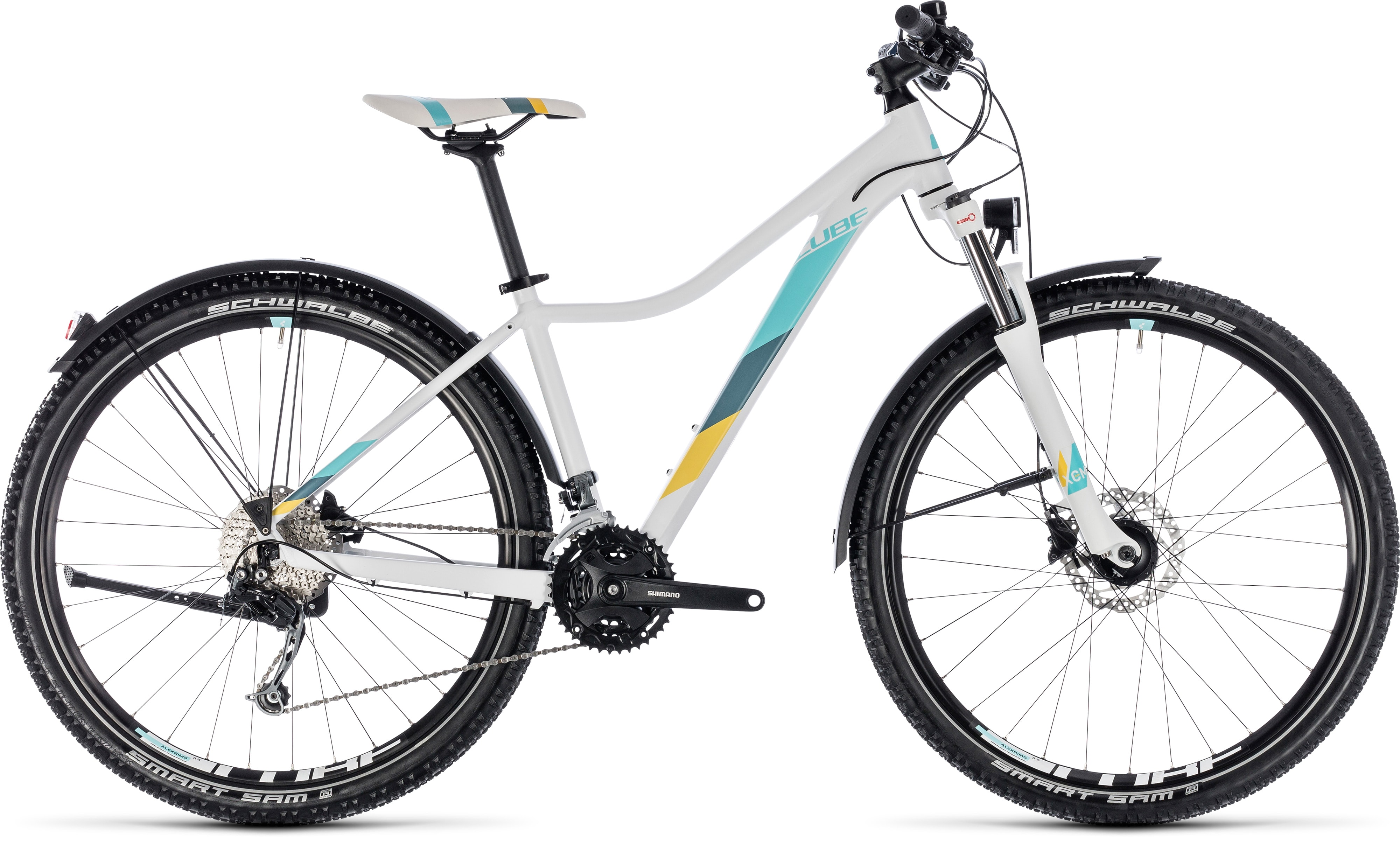 Cube Access Ws Pro Allroad White 180 N 180 Blue 2018