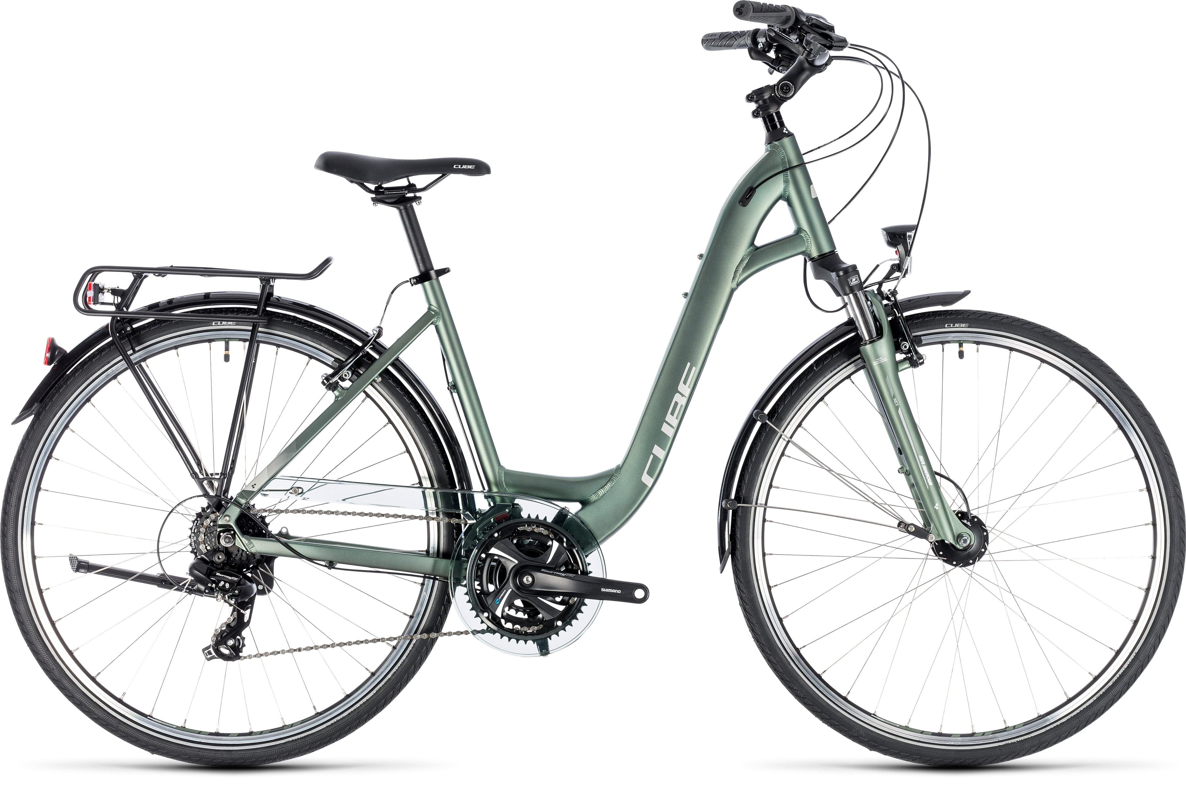 Cube Touring Green 180 N 180 Silver 2018