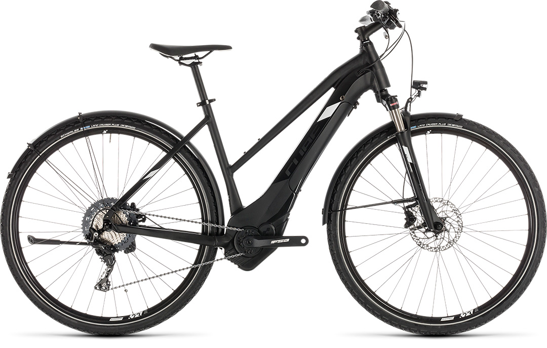 Cube Cross Hybrid Race 500 Allroad Blacknwhite 2019
