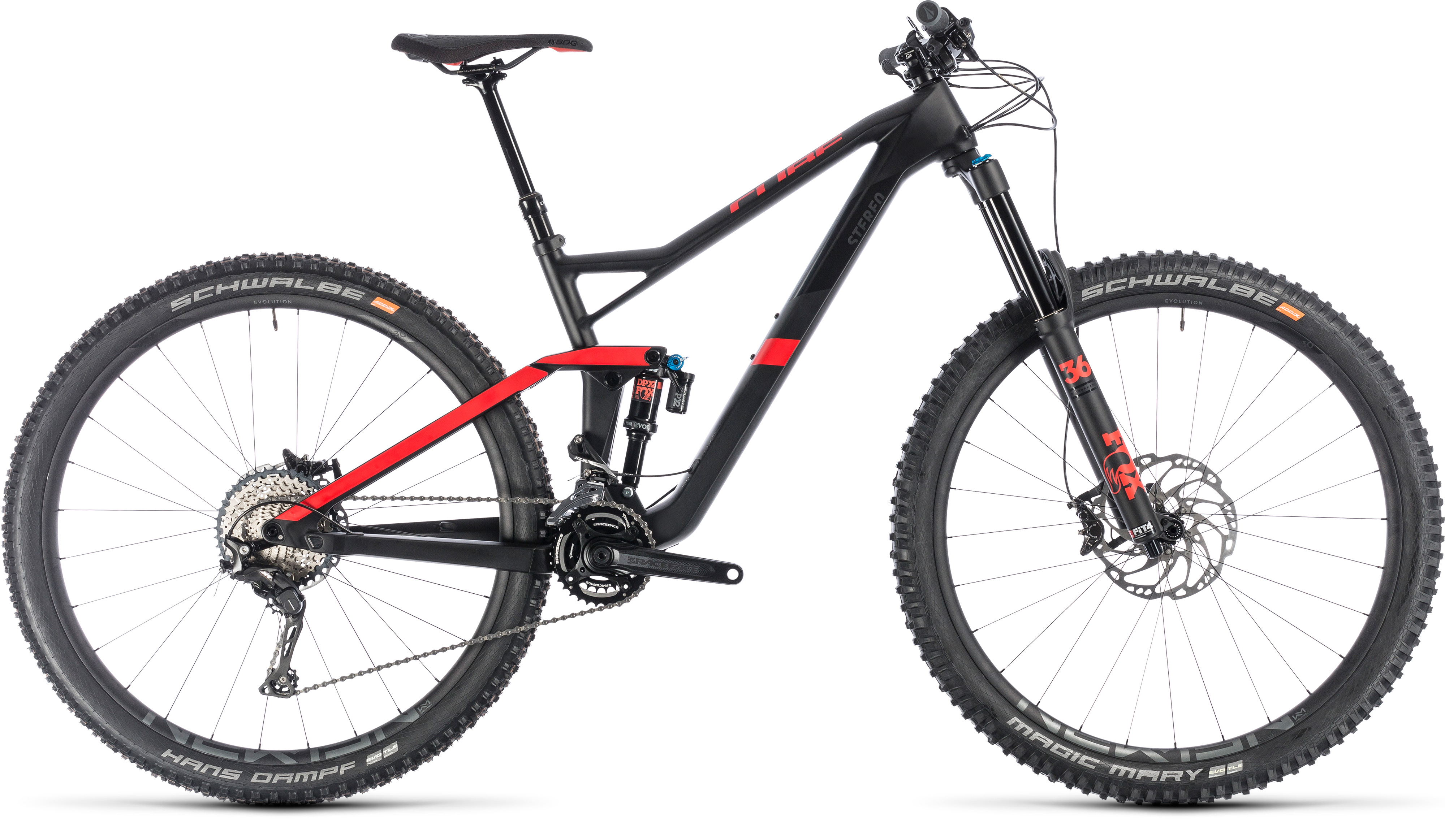 Cube stereo 150 c62 race 29 Carbon Red 2019