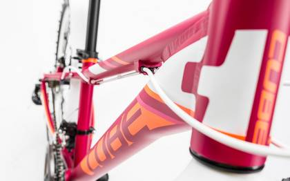 Detail image of Cube Kid 240 Allroad girl berry´n´white 2017 (6)