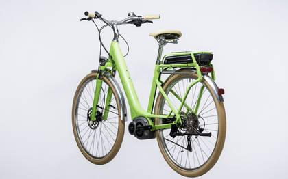 Detail image of Cube Elly Ride Hybrid 500 green´n´white 2017 (10)
