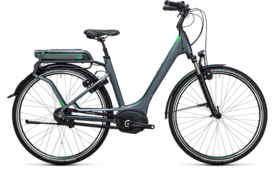 CUBE Travel Hybrid Pro 500 grey´n´flashgreen 2017