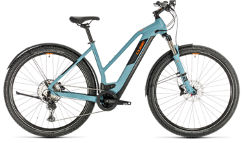 CUBE Cross Hybrid Race 500 Allroad blue´n´orange 2020