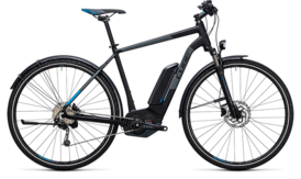 CUBE Cross Hybrid Pro Allroad 400 black´n´blue 2017