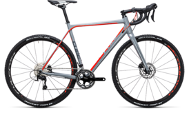 CUBE Cross Race Pro grey´n´flashred 2017