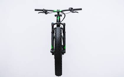 Detail image of Cube Nutrail Hybrid 500 black´n´green 2017 (5)