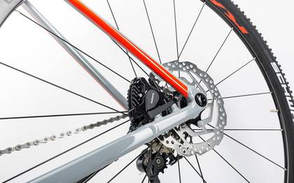 Detail image of Cube Cross Race Pro grey´n´flashred 2017 (14)