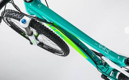 Detail image of Cube Sting WLS 140 Race 27.5 2x mint´n´green 2017 (1)