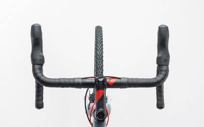 Detail image of Cube Cross Race Pro grey´n´flashred 2017 (1)
