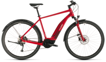 CUBE Nature Hybrid ONE 400 Allroad red´n´red 2020