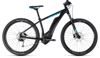 CUBE Access Hybrid ONE 400 black´n´aqua 2018