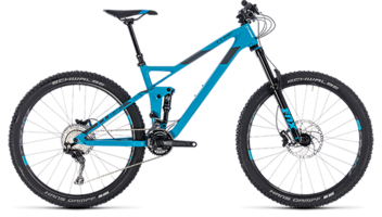 CUBE Stereo 140 HPC Race 27.5 blue´n´grey 2018