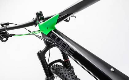 Detail image of Cube Reaction GTC Race 2x carbon´n´green 2017 (4)