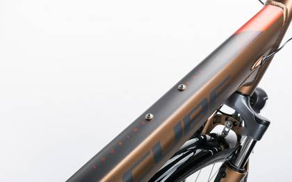 Detail image of Cube Touring Pro havanna brown´n´orange 2017 (7)