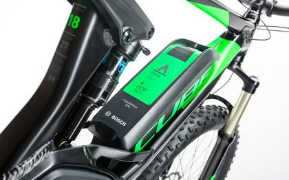 Detail image of Cube Stereo Hybrid 120 HPA Race 500 27.5+ black´n´green 2017 (8)