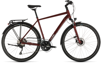 CUBE Touring EXC red´n´grey 2020