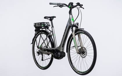 Detail image of Cube Touring Hybrid ONE 400 silver´n´flashgreen 2017 (3)