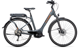 CUBE Touring Hybrid Exc 400 grey´n´copper 2017