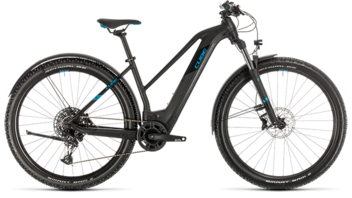 CUBE Reaction Hybrid EX 625 Allroad 29 black´n´blue 2020