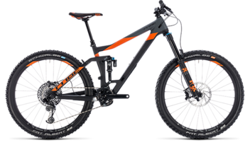 CUBE Stereo 160 C:62 TM 27.5 carbon´n´orange 2018