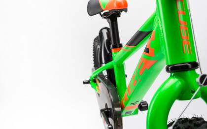 Detail image of Cube Kid 160 flashgreen´n´orange 2017 (7)
