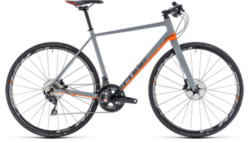 CUBE SL Road SL grey´n´orange 2018
