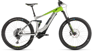 CUBE Stereo Hybrid 160 Race 500 27.5 grey´n´green 2019