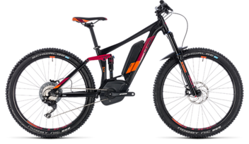 CUBE Sting Hybrid 140 Race 500 27.5 black´n´berry 2018