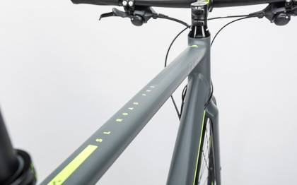 Detail image of Cube SL Road Pro grey´n´flashyellow 2017 (6)