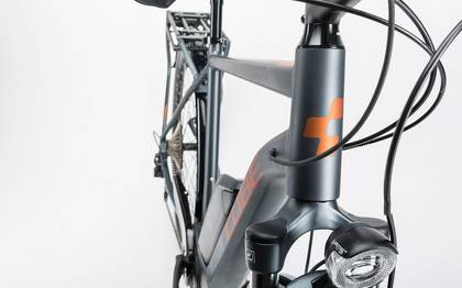 Detail image of Cube Touring Hybrid Exc 400 grey´n´copper 2017 (2)