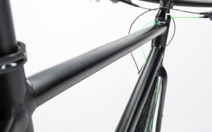 Detail image of Cube Hyde Race black´n´flashgreen 2017 (4)