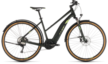 CUBE Cross Hybrid EXC 500 Allroad green´n´green 2019