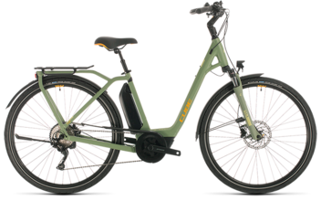 CUBE Town Sport Hybrid Pro 500 green´n´orange 2020