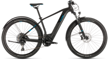 CUBE Reaction Hybrid EX 500 Allroad 29 black´n´blue 2020