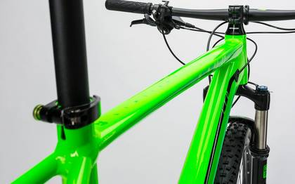 Detail image of Cube LTD Pro 2x green´n´black 2017 (4)