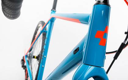 Detail image of Cube Cross Race SLT blue´n´flashorange 2017 (6)