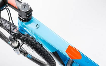 Detail image of Cube Reaction Hybrid HPA Race 500 blue´n´flashred 2017 (2)