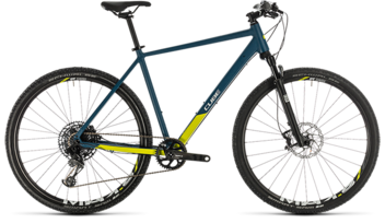 CUBE Cross SL blue´n´lime 2020