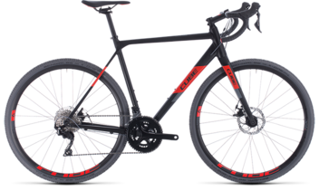 CUBE Cross Race black´n´red 2020