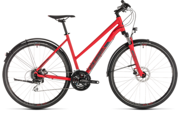 CUBE Nature Allroad red´n´grey 2019