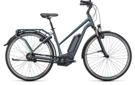 CUBE Travel Hybrid Pro 400 grey´n´flashgreen 2017