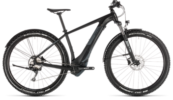 CUBE Reaction Hybrid EXC 500 Allroad black´n´grey 2019