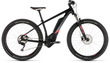 CUBE Access Hybrid Pro 400 black´n´coral 2019