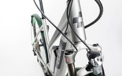 Detail image of Cube Cross Hybrid Race Allroad 500 silver´n´green 2017 (7)
