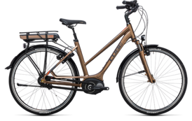 CUBE Travel Hybrid 400 havanna brown´n´orange 2017