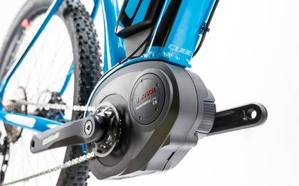 Detail image of Cube Reaction Hybrid HPA Race 500 blue´n´flashred 2017 (14)